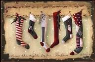Stockings Were Hung  Fine Art Print