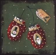 Holiday Mittens Art
