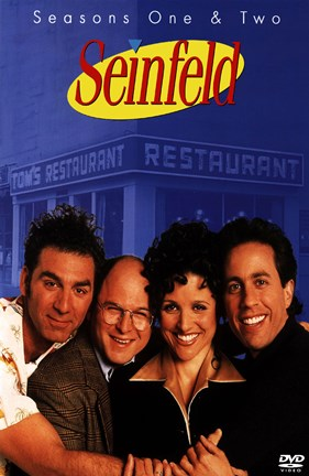 Framed Seinfeld - Season one and two Print