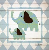 Elephants  Fine Art Print