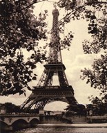 Eiffel Tower II - mini  Fine Art Print