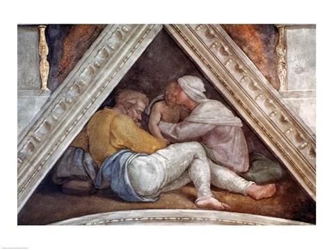 Sistine Chapel Ceiling The Ancestors Of Christ Fine Art