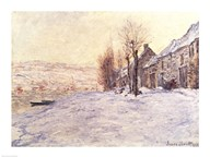 Lavacourt under Snow, c.1878-81 Art