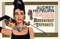 Audrey Hepburn (Breakfast At Tiffany's)  Wall Poster