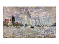 The Boats, or Regatta at Argenteuil, c.1874