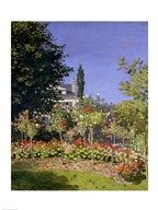 Flowering Garden at Sainte-Adresse, c.1866 Art