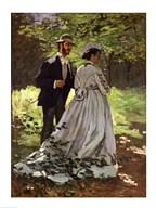 The Promenaders, or Bazille and Camille, 1865 Art