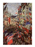 The Rue Saint-Denis, Celebration of June 30, 1878  Fine Art Print
