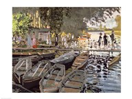 Bathers at La Grenouillere, 1869  Fine Art Print