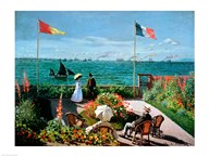 The Terrace at Sainte-Adresse, 1867 Art