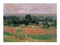 Haystack at Giverny, 1886 Art