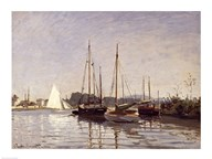 Pleasure Boats, Argenteuil, c.1872-3  Fine Art Print