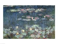Waterlilies: Green Reflections, 1914-18 Art