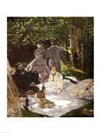 Dejeuner sur l'Herbe, Chailly, 1865 Art