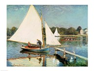 Sailing at Argenteuil, c.1874 Art