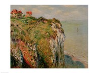 Cliff at Dieppe, 1882 Art