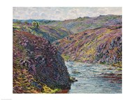 Ravines of the Creuse at the End of the Day, 1889  Fine Art Print