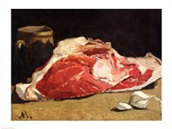 Still Life, the Joint of Meat, 1864  Fine Art Print