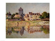 By the River at Vernon, 1883  Fine Art Print