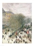 Boulevard des Capucines, 1873-4  Fine Art Print