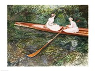 The Pink Rowing Boat Art