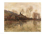 The Flood at Giverny, c.1886  Fine Art Print