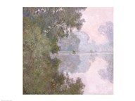 Morning on the Seine, near Giverny, 1896  Fine Art Print