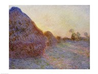 Haystacks Art