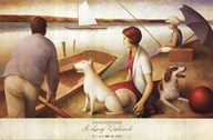 Fabio Hurtado - A Long Weekend Size 21.875x39.5