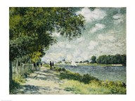The Seine at Argenteuil, 1875 Art