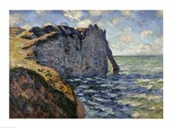 The Cliff of Aval, Etretat  Fine Art Print