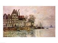 The Port of Amsterdam  Fine Art Print