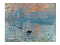 Impression: Sunrise, 1872 Art