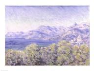 View of Ventimiglia, 1884  Fine Art Print