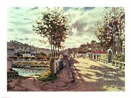 The Seine at Bougival, 1869  Fine Art Print