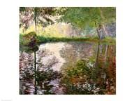 The Lake at Montgeron Art