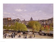 Quai du Louvre, Paris, 1866-7 Art