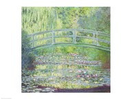 The Waterlily Pond with the Japanese Bridge, 1899 Art