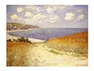 Path in the Wheat at Pourville, 1882  Fine Art Print