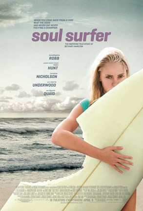 Framed Soul Surfer Print