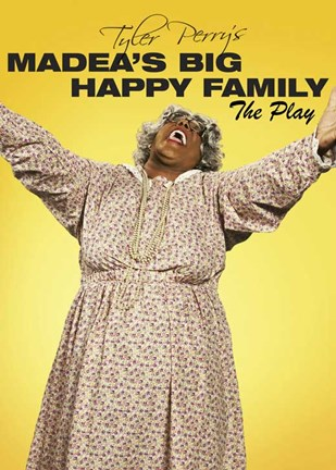 Framed Madea's Big Happy Family Print