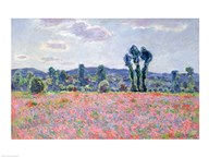 Poppy Field, 1887 Art