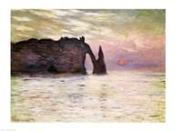 Falaise d'Etretat, 1883 Art