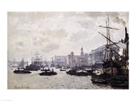 The Thames at London Art