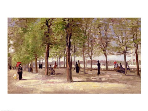 Terrace in the Luxembourg Garden, 1886
