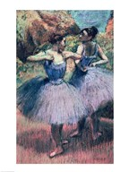 Dancers in Violet  Fine Art Print