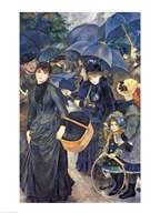 The Umbrellas Art