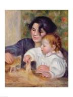 Gabrielle and Jean  Fine Art Print