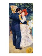A Dance in the Country, 1883  Fine Art Print