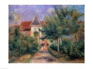 Renoir's house at Essoyes, 1906  Fine Art Print